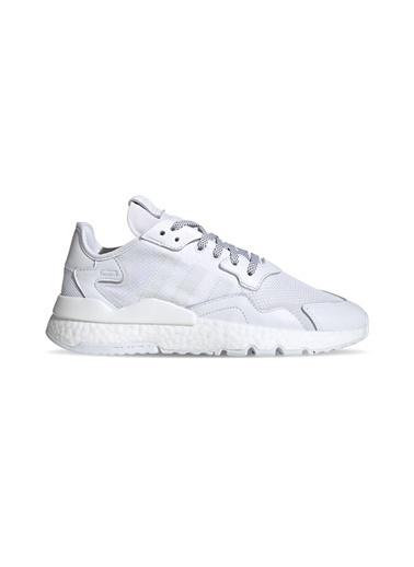 adidas Adidas Erkek Günlük Spor Ayakkabı Nite Jogger Fv1267 Beyaz